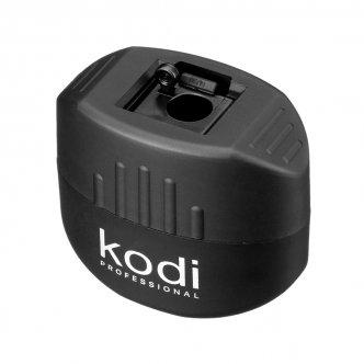 фото - Точилка для косметических карандашей (черная матовая, с одним лезвием), Kodi