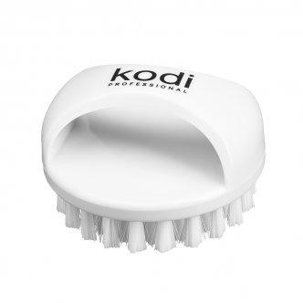 Щеточка для ногтей от пыли круглая (белая), Kodi