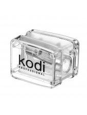 Точилка для косметических карандашей (прозрачная, с одним лезвием), Kodi