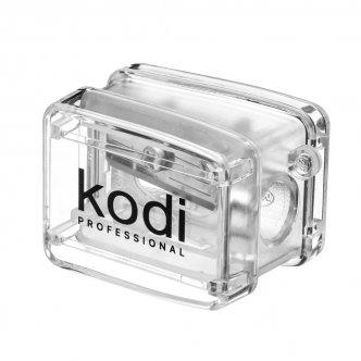 фото - Точилка для косметических карандашей (прозрачная, с одним лезвием), Kodi