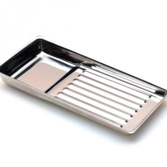 фото - Лоток металлический 195 х 90мм для стерилизации и хранения инструментов, Kodi