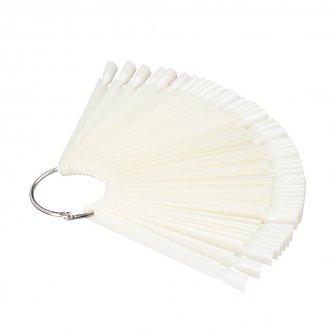 фото - Демонстрационная палитра-веер на кольце, 50 типс (цвет натуральный), Kodi