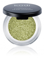 Eyeshadow Diamond Pearl Powder 09 Green fever (тени для век с шиммером, цвет:Green fever), 2г, Kodi