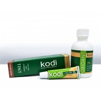 фото - Набор для окрашивания бровей и ресниц (Special Brown), Kodi