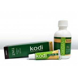 фото - Набор для окрашивания бровей и ресниц (Brown), Kodi