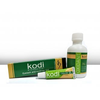фото - Набор для окрашивания бровей и ресниц (Black), Kodi