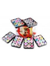 Набор цветных акрилов в чемодане, Kodi