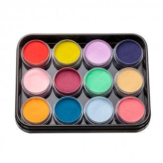 Набор цветных акрилов L1 (12 шт), Kodi