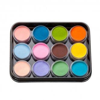 Набор цветных акрилов L4 (12 шт), Kodi