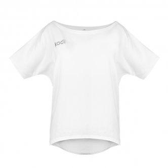 фото - Футболка свободная с лого Kodi professional летняя (цвет белый, размер L), Kodi