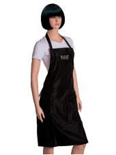 Фартук Kodi professional черный с серебряным логотипом (длинный), Kodi