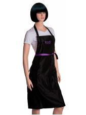 Фартук Kodi professional черный с фиолетовым логотипом (длинный), Kodi