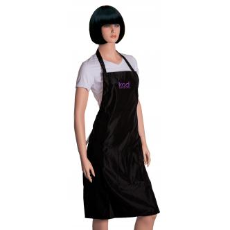 фото - Фартук Kodi professional черный с фиолетовым логотипом (длинный), Kodi