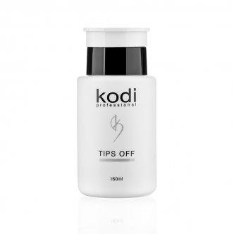 фото - Tips Off  (Жидкость для снятия гель лака/акрила) 160 мл., Kodi