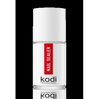 фото - Nail Sealer ТС (Верхнее покрытие для акриловых ногтей с ультрафиолетом) 15 мл., Kodi