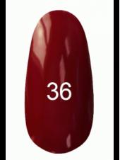 Гель лак № 36 (гнилая вишня, с перламутром) 8 мл., Kodi