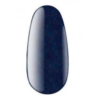 фото - Гель лак № 100 AQ (Темно-синий с зеленым шиммером, крем), 12мл, Kodi