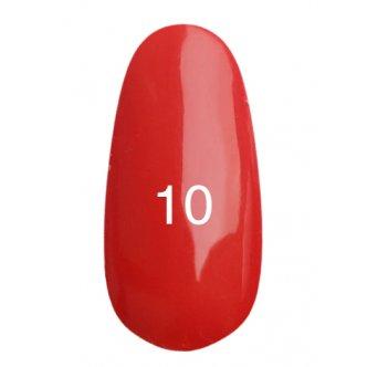 Гель лак № 10 (ализариновый красный) 8 мл.