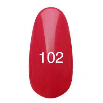 Гель лак № 102 (светло малиновый) 8 мл., Kodi