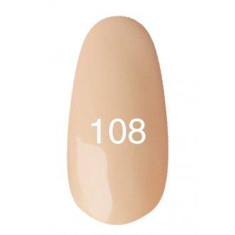 Гель лак № 108 (персиковый) 8 мл.