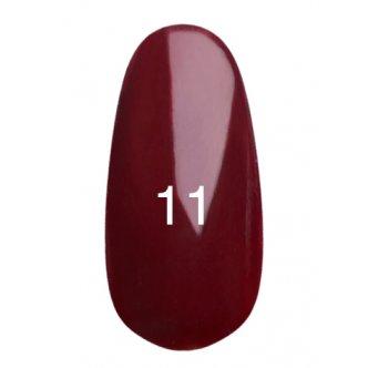Гель лак № 11 (сангрия, с перламутром) 8 мл., Kodi