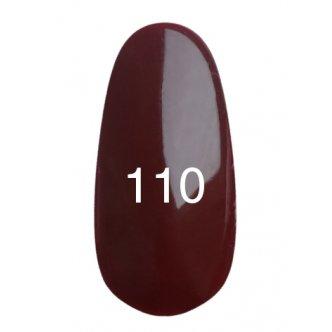 Гель лак № 110 (шоколад, эмаль) 8 мл., Kodi