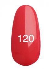 Гель лак № 120 (глубокий карминно-розовый) 8 мл., Kodi