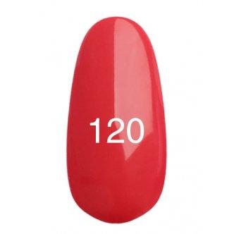Гель лак № 120 (глубокий карминно-розовый) 8 мл.