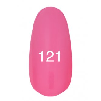 Гель лак № 121 (насыщенно-розовый) 8 мл.