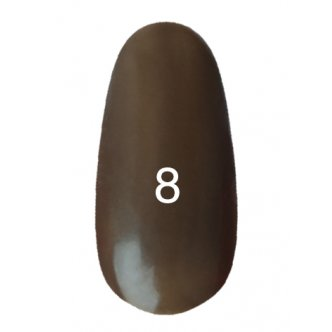Гель лак № 8 (пепельно ореховый) 8 мл.