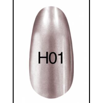 фото - Лак Hollywood 8ml  H01 (светлое серебро ), Kodi