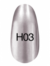 Лак Hollywood 8ml  H03 (темное серебро), Kodi
