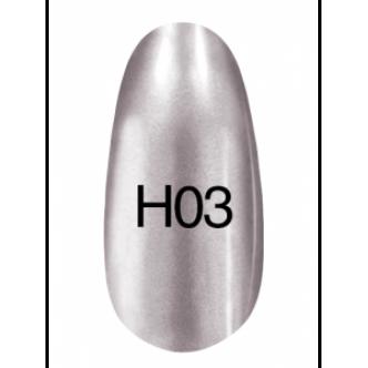 фото - Лак Hollywood 8ml  H03 (темное серебро), Kodi