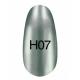 Лак Hollywood 8ml  H07 ( серебро с небольшим оттенком голубого цвета)