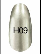 Лак Hollywood 8ml  H09 (серебро с небольшим оттенком зеленого), Kodi
