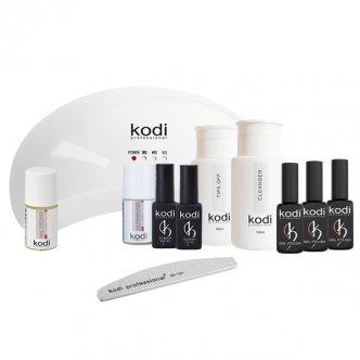 Акционный набор «Maxi» для покрытия ногтей гель-лаком Kodi (-25%)+Пляжная сумка KODI PROFESSIONAL в подарок!!!