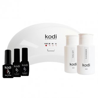 Акционный набор «Мини« для покрытия ногтей гель-лаком Kodi (-25%)+ ПОДАРОК!