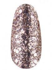 Гель лак № 01 SH (Розовое золото, брокат и глиттер), 8 мл, Kodi