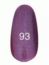 Гель лак № 93 (фиолетовый с микроблеском) 8 мл., Kodi