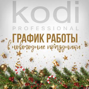 График работы интернет-магазина Kodi professional в новогодние праздники