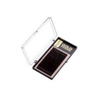 фото - Ресницы D 0.12 (16 рядов: 9-2; 10-4; 11-4; 12-4; 13-1; 14-1) Gold Standart, Kodi