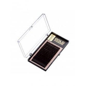фото - Ресницы C 0.10 (16 рядов: 14 мм) Gold Standart, Kodi