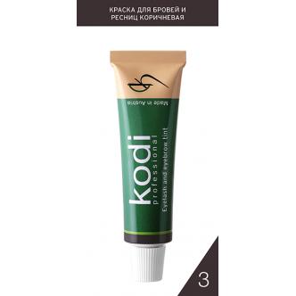 Краска для бровей и ресниц коричневая (15 ml)