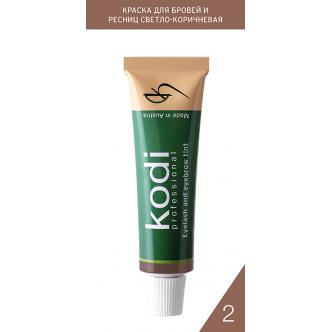 фото - Краска для бровей и ресниц натурально-коричневая (15 ml) АВСТРИЯ, Kodi