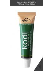 Краска для бровей и ресниц графитовая (15 ml)