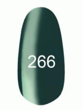 Гель лак № 266 (темно-лазурный) 8 мл., Kodi