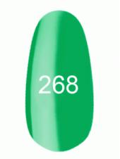 Гель лак № 268 (лазурно-серый) 8 мл., Kodi
