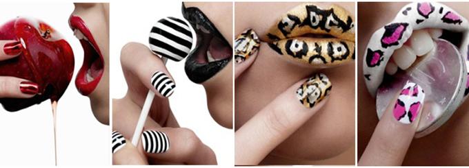 наклейки для ногтей декоративные