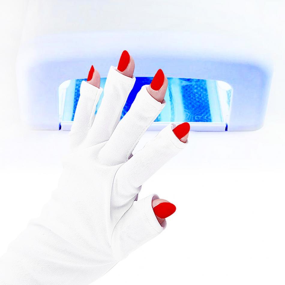 Защитные перчатки для УФ лампы