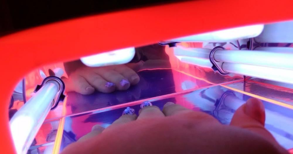 внутреннее устройство УФ лампы